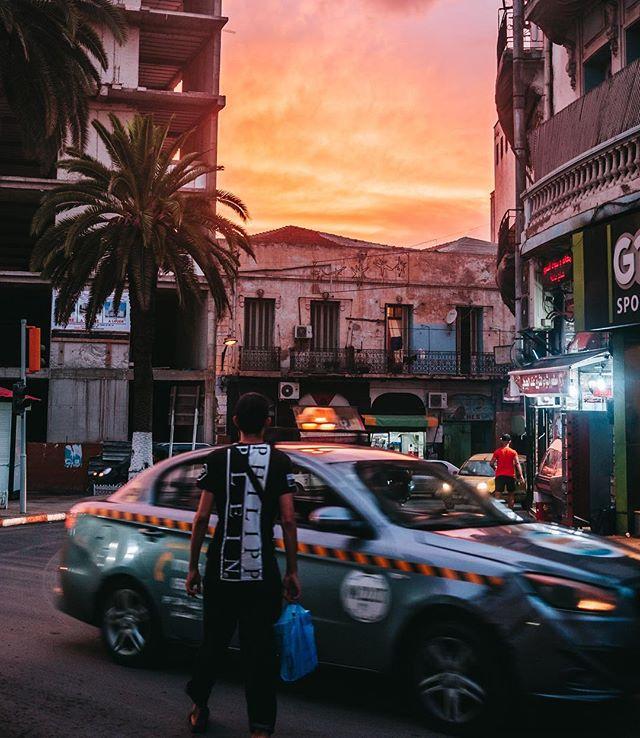 Algerian sky.