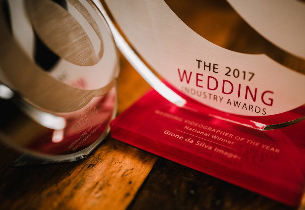 National Winner - Wedding Videographer of the Year - The Wedding Industry Awards