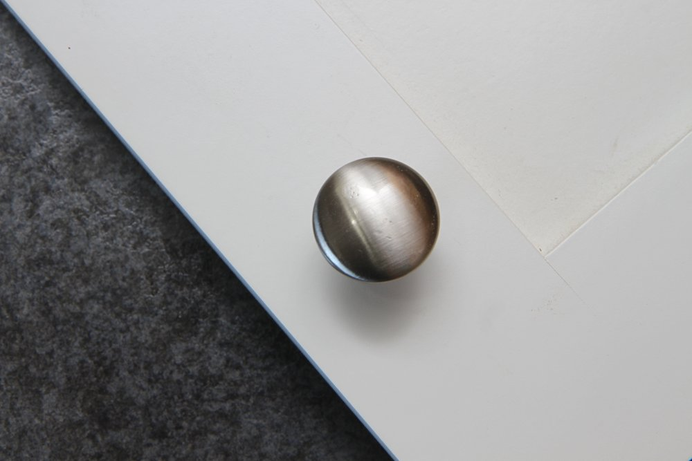 Satin Nickle Knob -