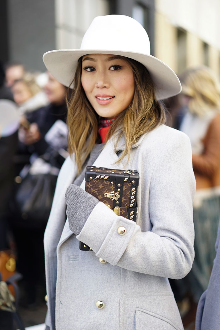 Aimee Song at Fashion Week