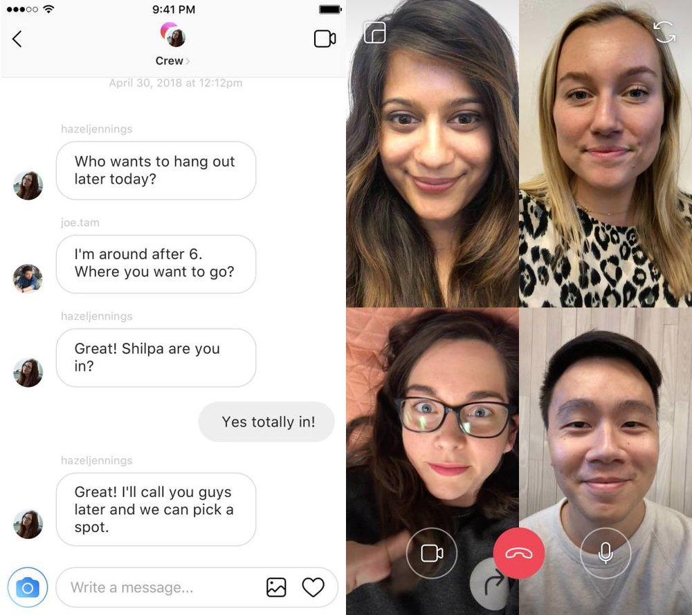 Instagram makes moves to keep you more connected.