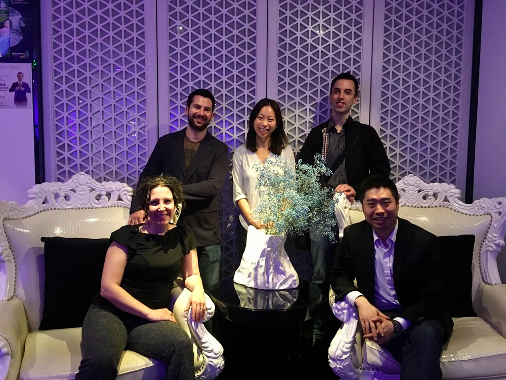 DayDayUp and Covo founders in Beijing (2016)
