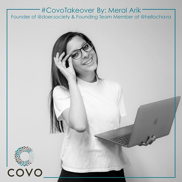 We're too excited! Covo member Meral Arik @my.startuplife will be taking over our Instagram account! Follow along! #CovoTakeover #CovoSF . . . . #HelloCovo #Members #Entrepreneur #Founder #Innovator