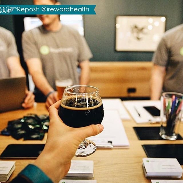 Thank you for stopping by @irewardhealth! Drunk user testing was a hit! #CovoEvents #Repost