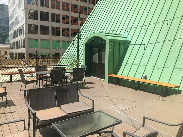 One of the amazing benefits of working at Covo, is access to our rooftop deck. . Visit the link in our for more information, or to schedule a tour today!