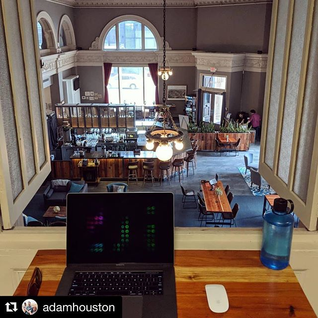#Repost @adamhouston with @get_repost ・・・ Trying out @covostl - a new(ish) downtown co-working space today. Loving it so far! #covo #motivated #focusfocusfocus #goodvibesonly #notoddlersallowed #nocryingallowed #mightactuallygetsomeworkdone