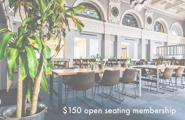 "For a limited time, we're discounting our open monthly membership. The open membership gives you access to all three floors of Covo, so you can sip a coffee in the open lobby, tuck in for a nap in the sleep room, or whiteboard in an upper floor conference room. Visit our website and click ""reduced rates"" for more information."
