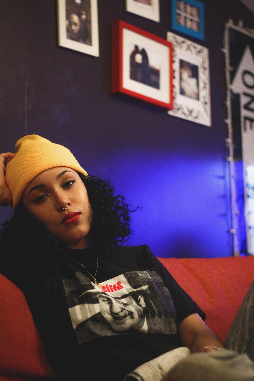 Tangina Stone - artist,songwriter, activist