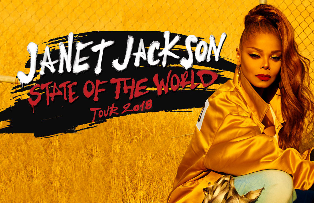 JANET JACKSON  State of the World Tour 2018