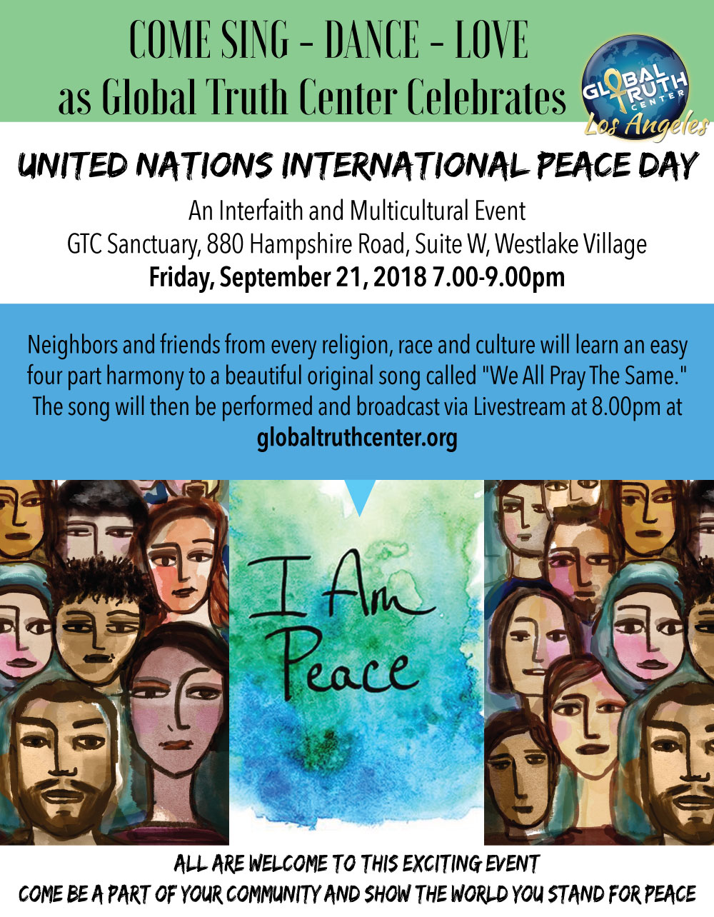 an interfaith and multi-cultural event