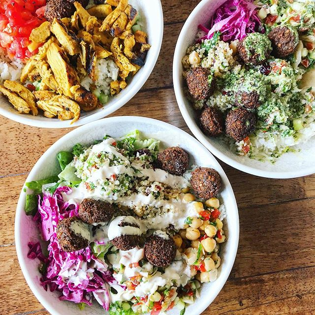 @yafokitchen is now open in Plaza Midwood! Here's to more delicious bowls & falafel 😍🙌🏼