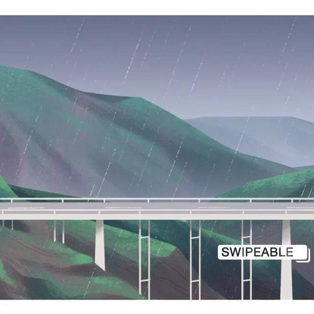 This style frame that never got picked up seemed just right for the gloomy weather... . . . . . . . . . . . #visdev #visualdevelopment #environment #illustration #art #digitalart #background #backgroundart