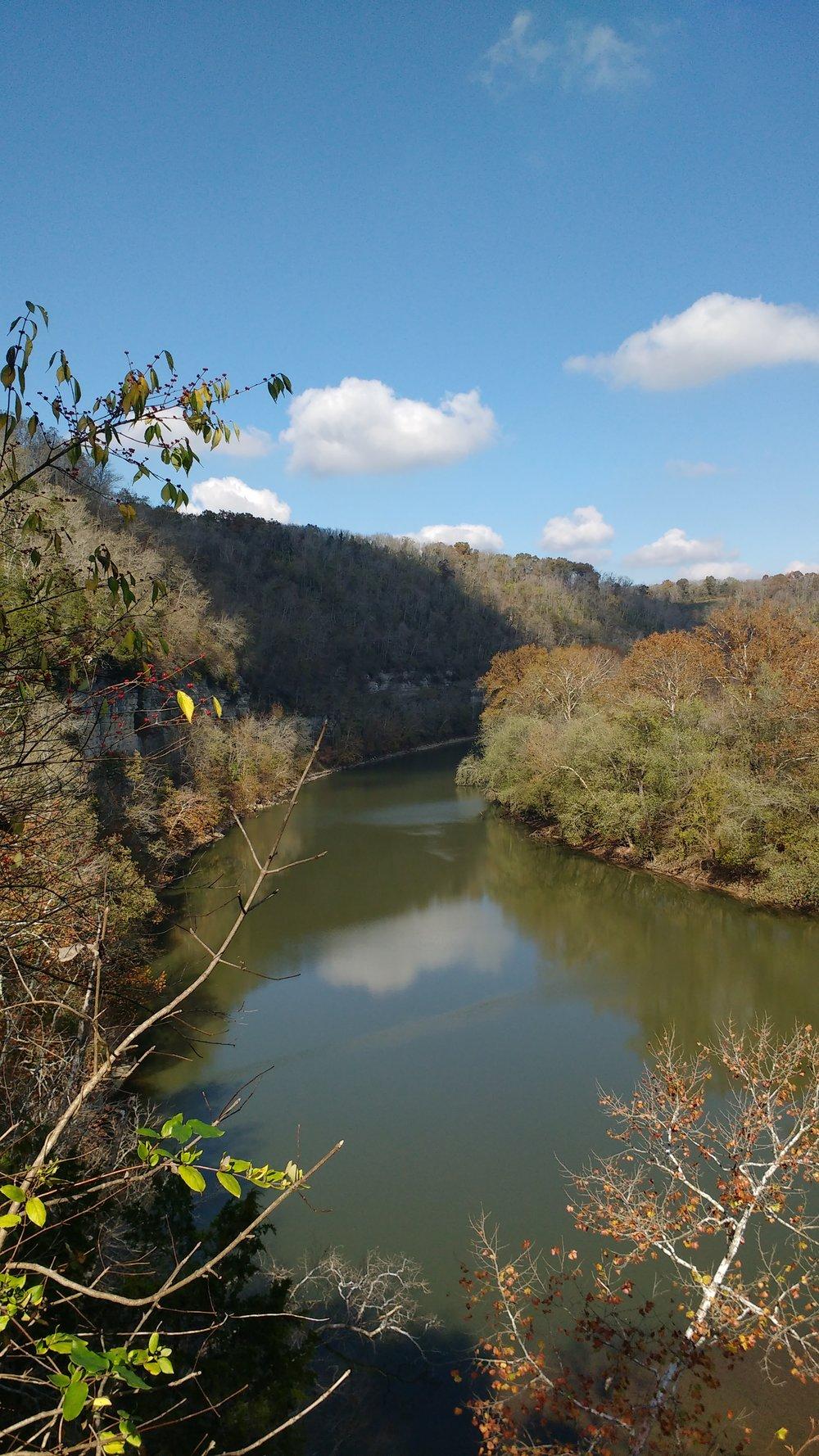 Kentucky River Overlook on Raven Run Red Loop