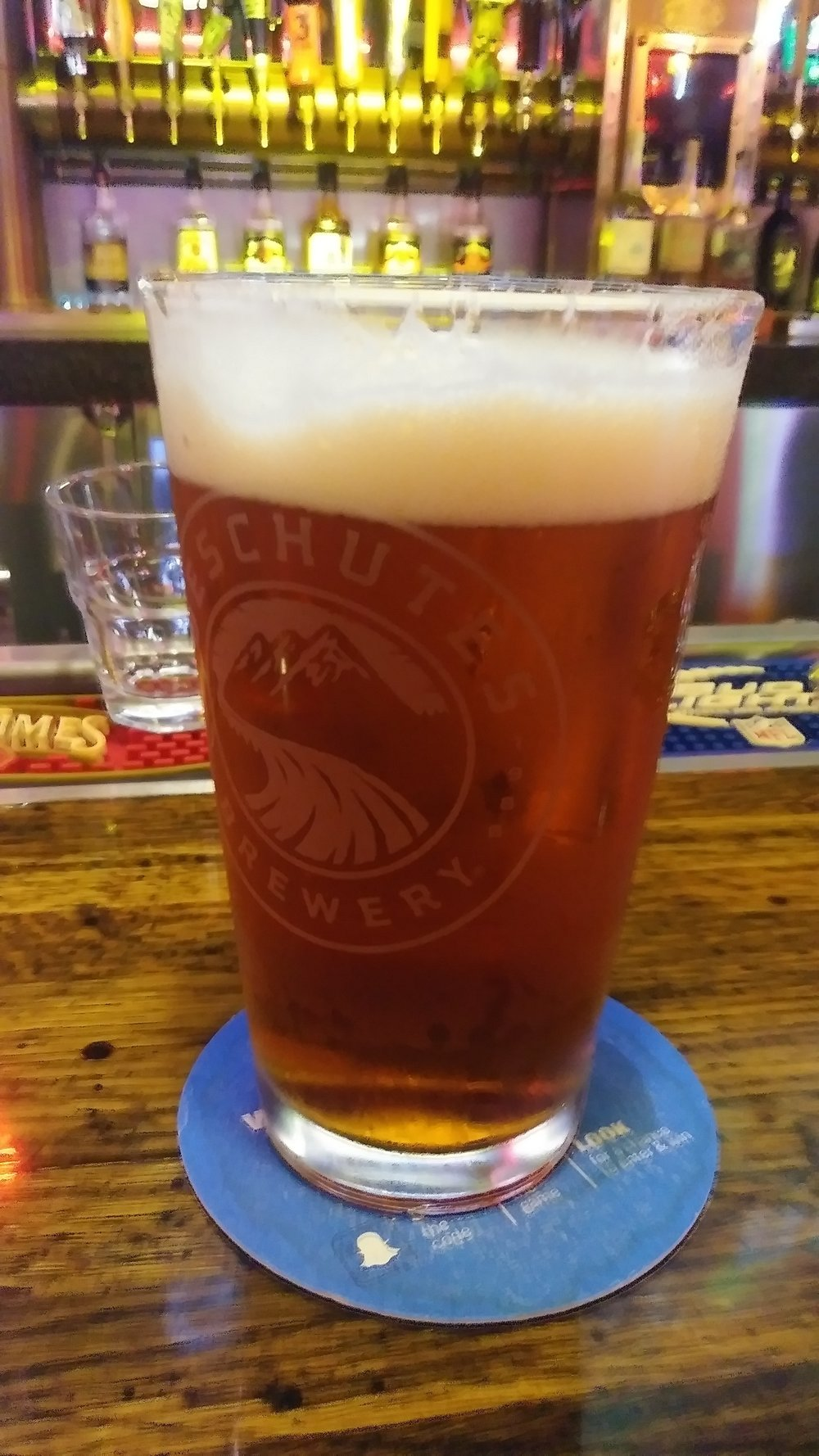 Deschutes Fresh Squeezed IPA at Oasis Southwest Grill