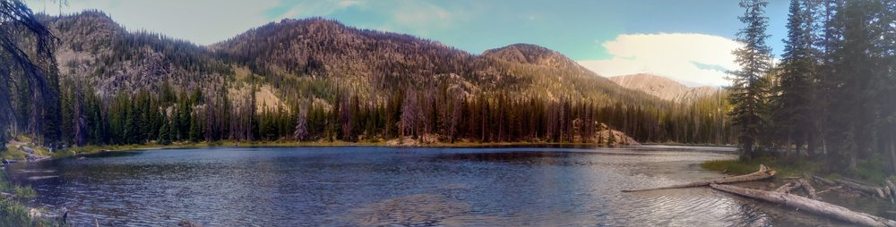 Gold Creek Lake panorama