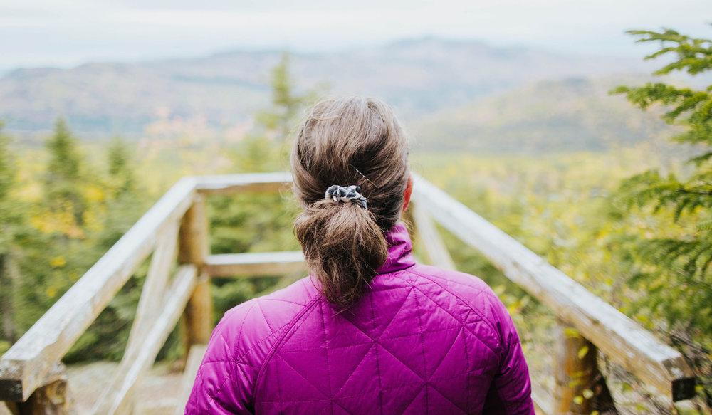 Vue panoramique en randonnée