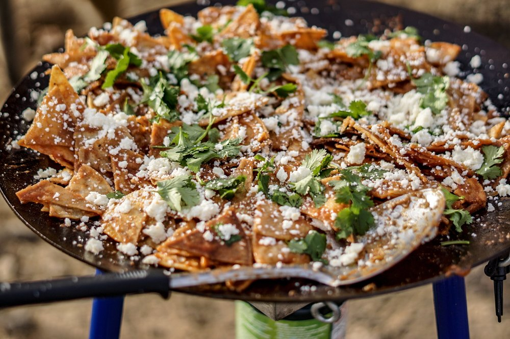 Chilaquiles by Kelly @mtns_yo