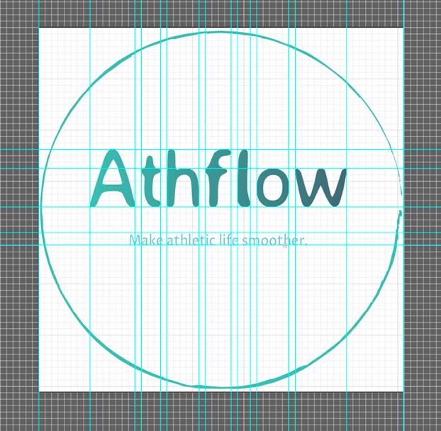 The logo I designed for the app.