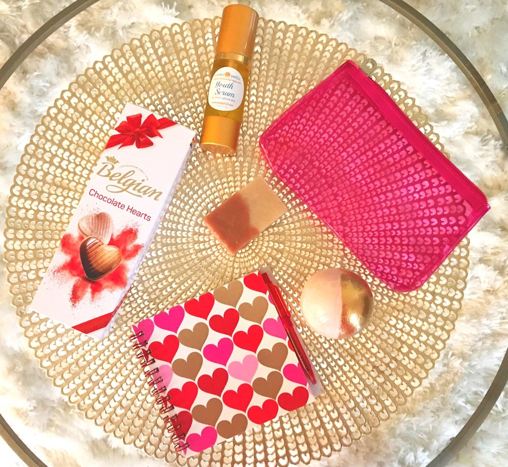 Get everything you need for a special valentine's-day indulgence!