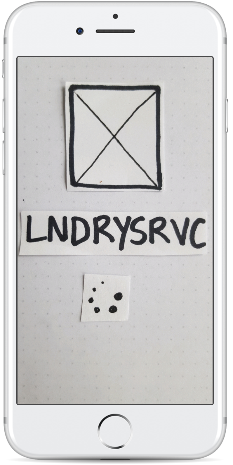 LNDRYSRVC Initial Prototype