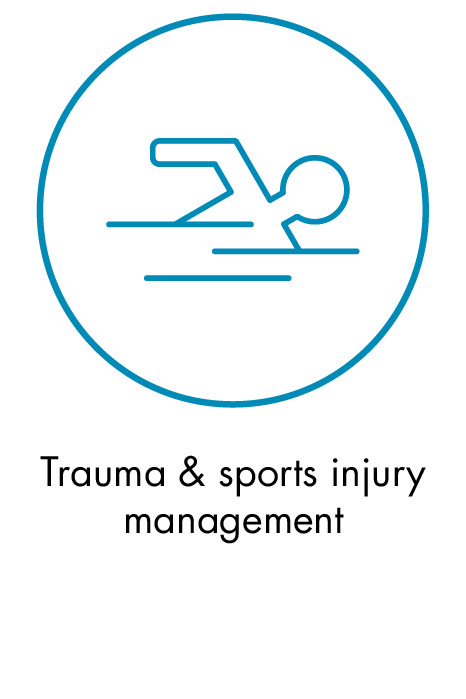 Trauma & sports injury management