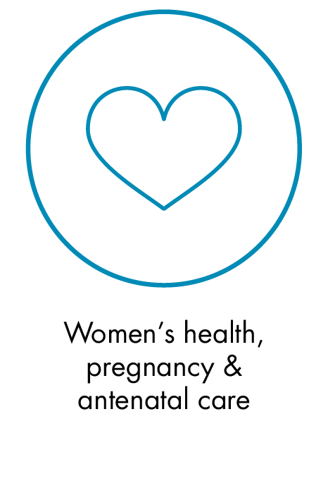 Women's health, pregnancy & antenatal care