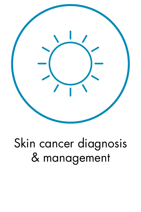 Skin cancer diagnosis & management