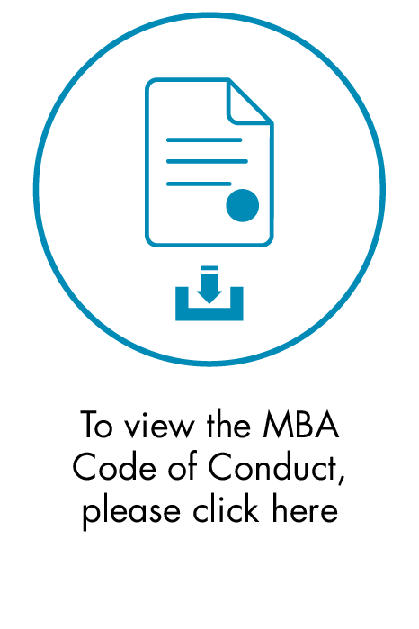 To view the MBA Code of Conduct
