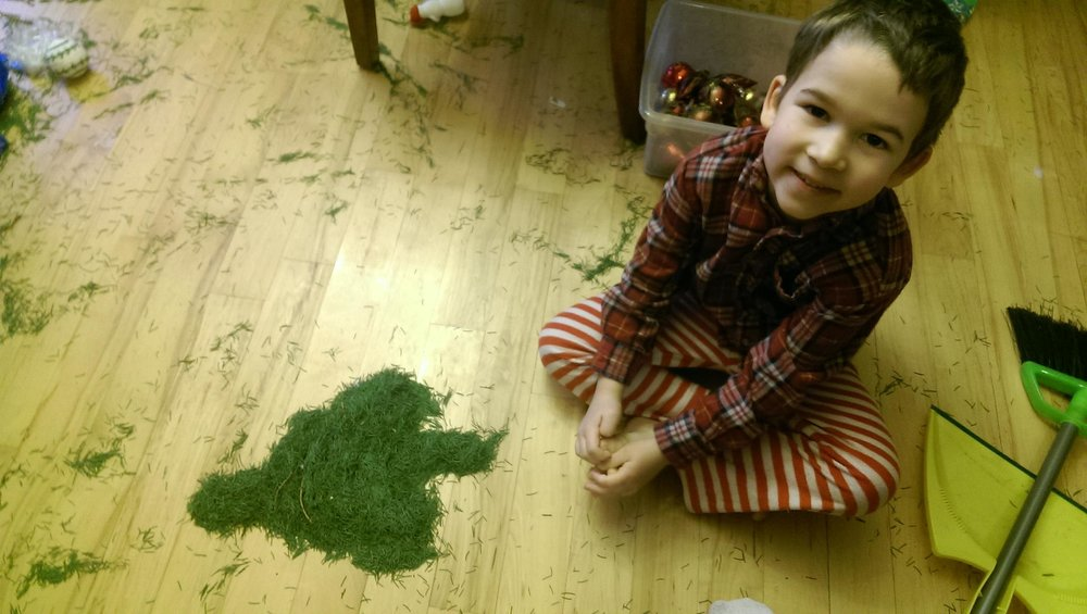 """Look, Mom! I made a tree!"""