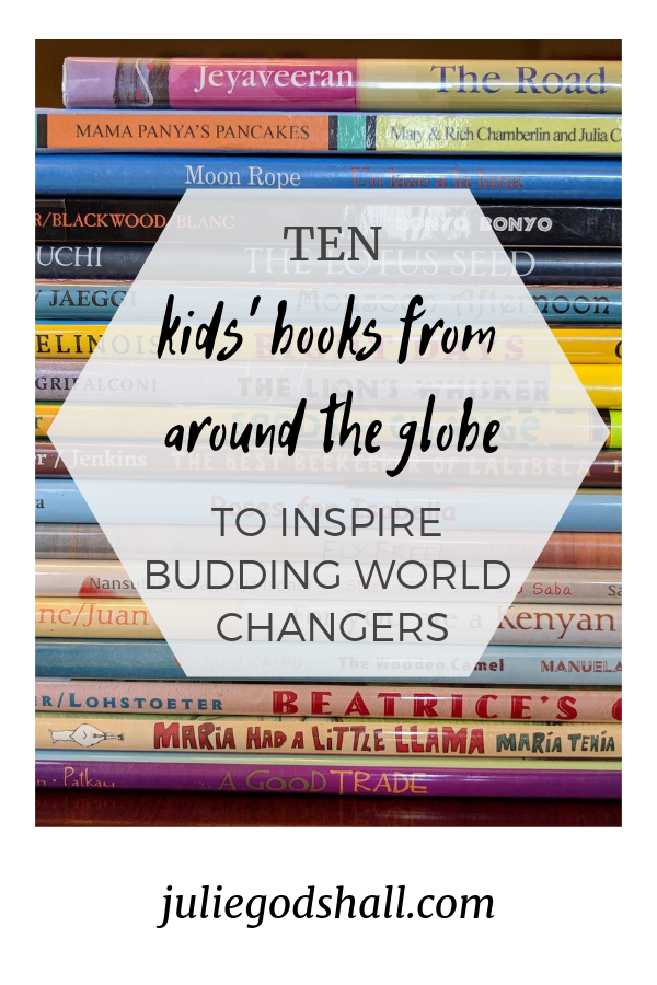 I rounded up ten of my favorite books for kids that are set in Noonday's partner countries (and many written by authors from those countries). Take a look at this tiny glimpse of the vast world of global literature, and how it can help our kids (and us) see that the beauty, curiosity, sadness and joy all over the world all make up the rich tapestry of being human. Features books set in Uganda, Ecuador, Guatemala, Vietnam, Peru, Haiti, Kenya, Ethiopia, and more.