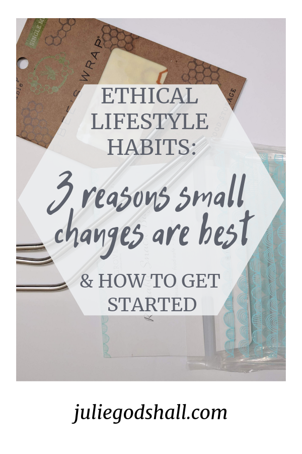 "When it comes to living a more ethical lifestyle that promotes social and environmental justice, it's small changes that matter. They add up, they last, and they inspire grace and collaboration more than an ""all or nothing"" approach ever could. Plus, they are doable without breaking our budget. It's time to embrace the small, and I hope my latest post on Noonday's Flourish blog will inspire you to do just that. Set a new year's resolution to make small changes that stick."