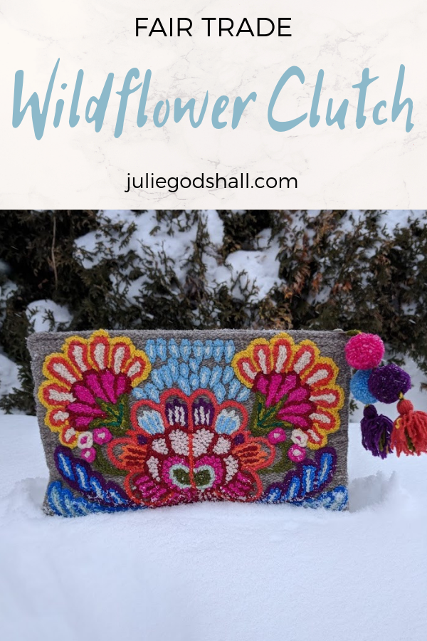 Noonday's Wildflower Clutch not only provides a pop of color and pattern with embroidery and poms - it also provides employment for women throughout the Ayacucho region of Peru because it is handmade, reducing the need to move to find factory jobs. Click to shop and to see how the design was inspired by the unique needs of women there. There are amazing people working to provide opportunity in vulnerable communities, as well as practical ways that you can support them. That includes supporting businesses such as Hilos y Colores in Peru through Noonday Collection. And my goal is to connect you to them. Read the beautiful story behind the opportunity this piece makes possible.