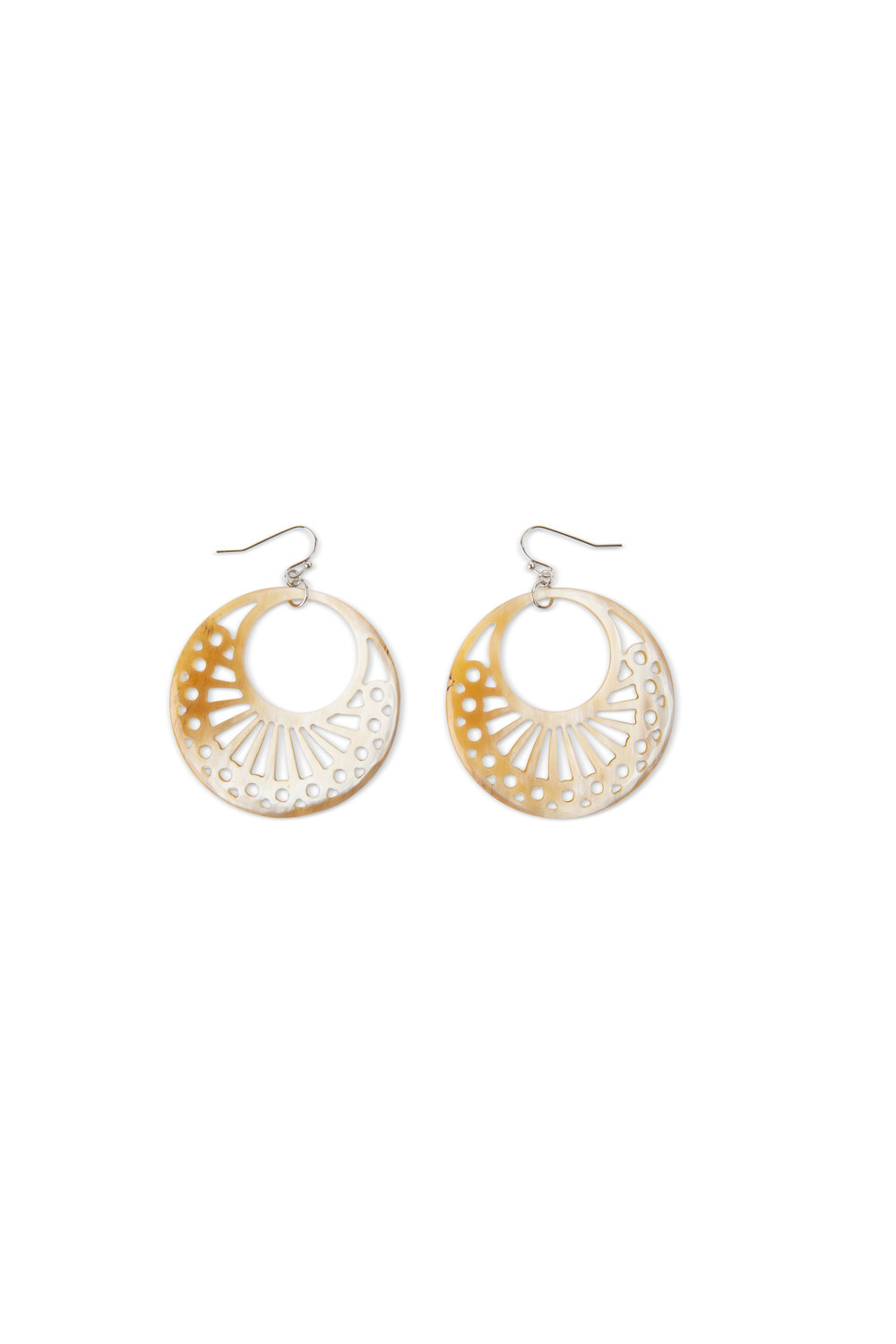 Filigree Hoops from Noonday Collection