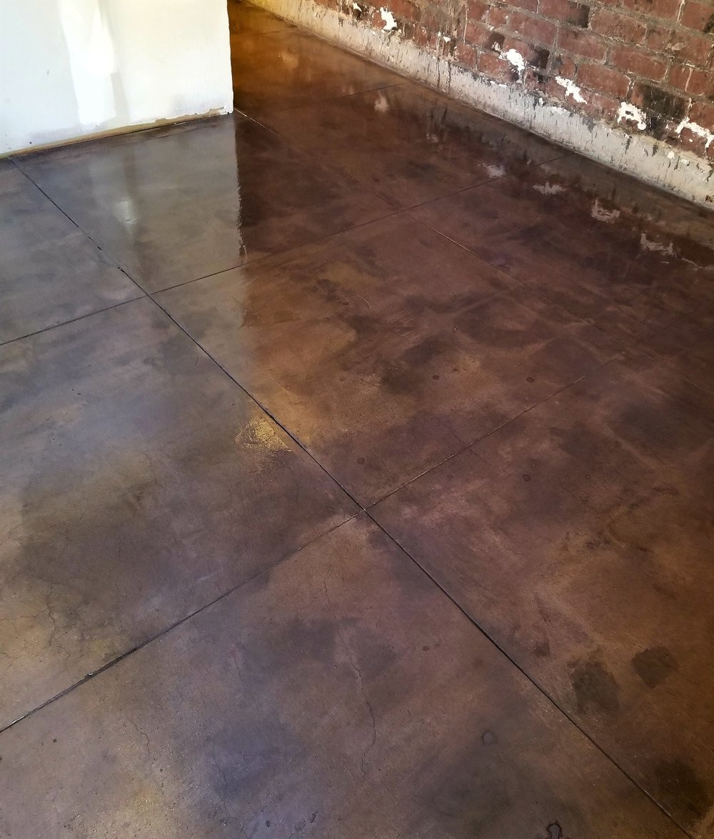 Stained Concrete, - Burbank, CA