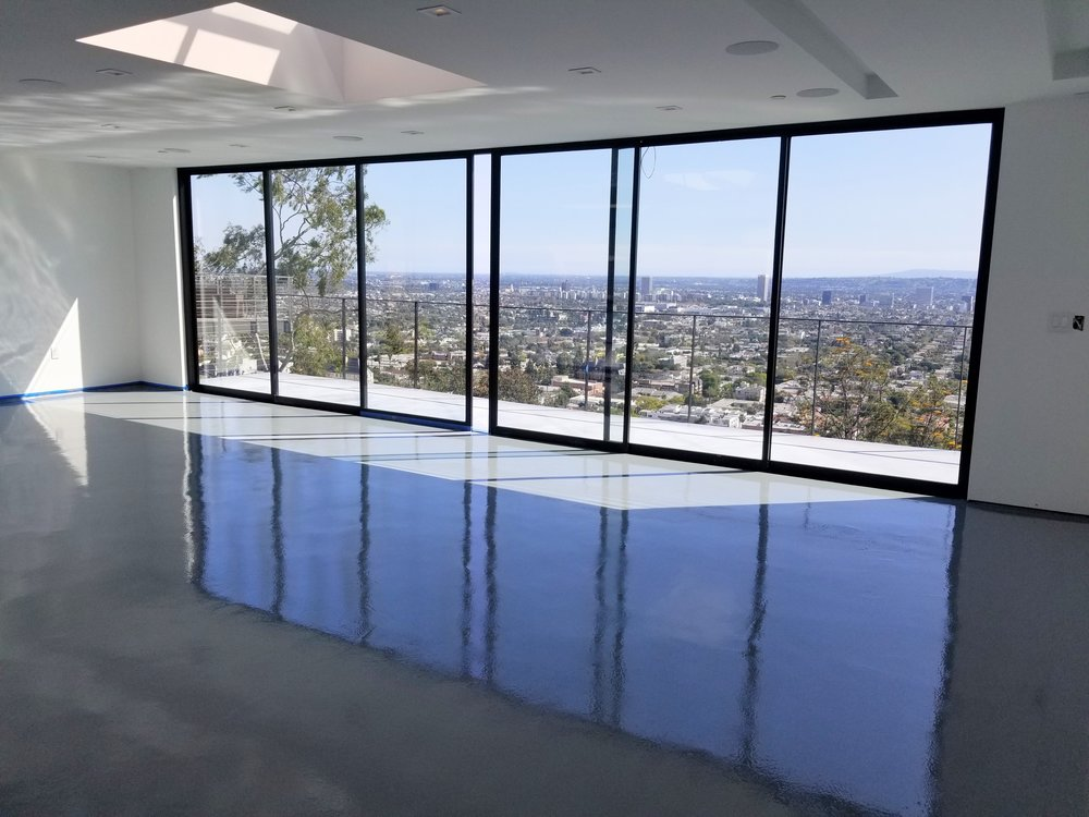 Stone Gray Epoxy @ Hollywood Hills, CA
