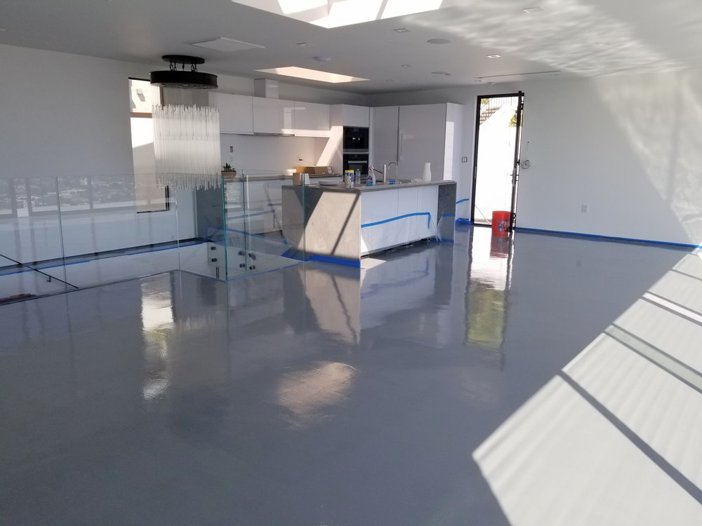 Stone Gray Epoxy @ Hollywood, CA