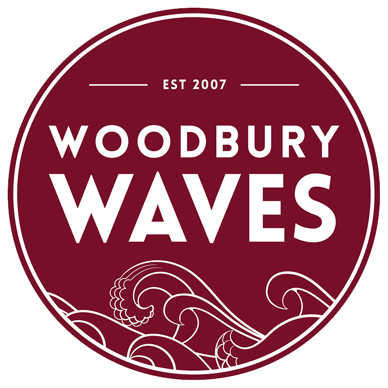 Woodbury Waves Logo