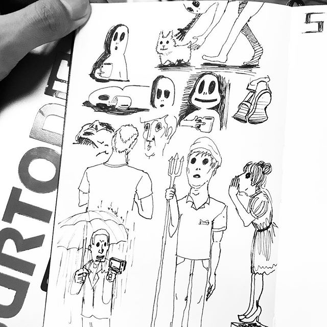#sketching #doodling #drawing #ink #illustration #quick #스케치#그림 #잉크 #그림을그리자 #오섭 #BUSO #OSUB #monday
