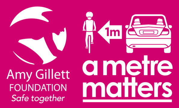Support safe cycling - Help us support our fundraising partner, the Amy Gillett Foundation.