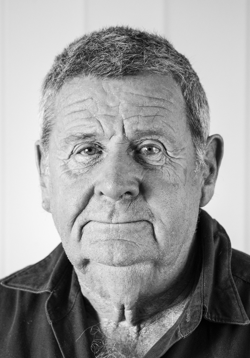 Bob Lubcke (farmer) - photographed by his daughter Karyn
