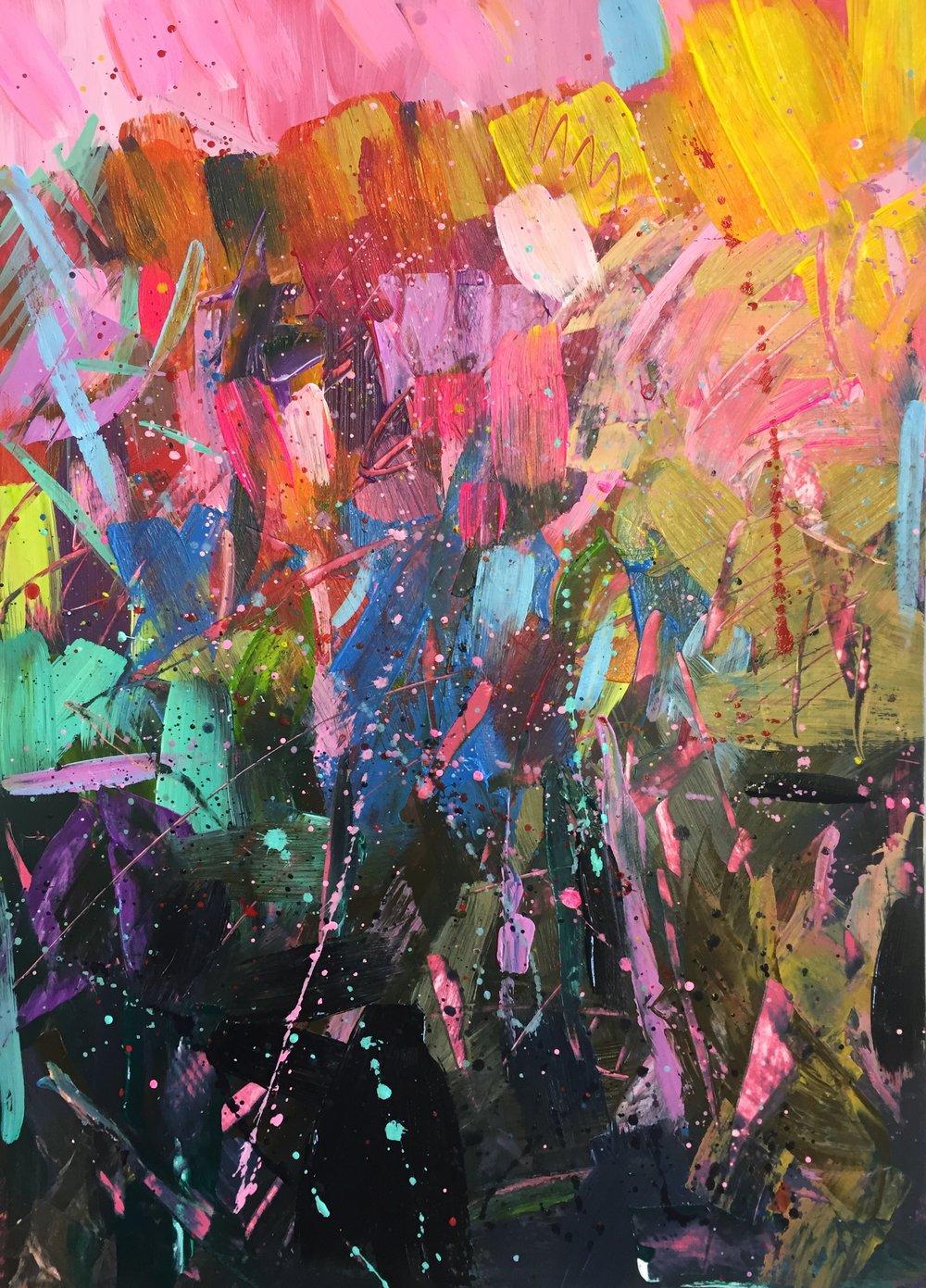 Image: Jane Lloyd, Abbotts Ann Arts participant 2017.