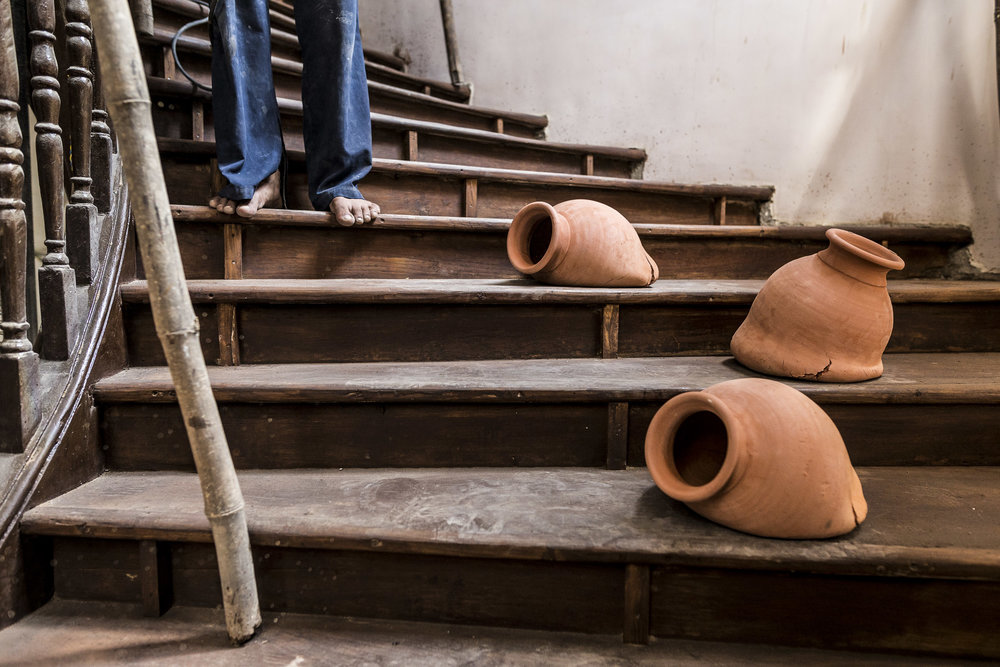 Trent Jansen, Dropping A Kumbhar Wala Matka 2016, PhotoNeville Sukhia