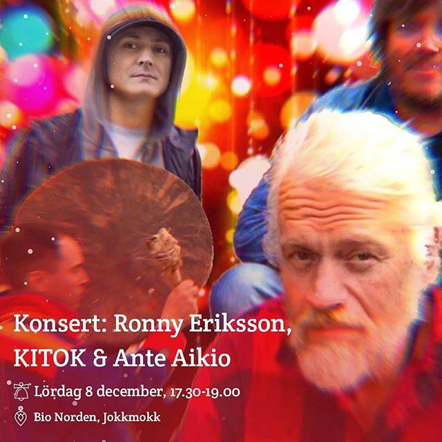 Har ni inte skaffat biljetter än så är det hög tid! Finns att förköpa hos Stoorstålka. Men det går förstås bra att köpa i dörren också innan konserten börjar. I kväll, 17.30, på Bio Norden. Snart är det dags! 🎄 #jokkmokksjulmarknad#jul#jokkmokk#julmarknad#norrbotten#sápmi #jåhkåmåhkke#julshopping#duodji #julklappar #vinter#snö#julbord#julmarknader#jokkmokksjulmarknad2018 #tomten #julstämningpårikt #konsert #paradisejokkmokk