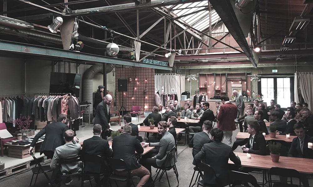 Bertonis 2-dags kick off møde for 55 personer i pladeværkstedet.  Læs casen her.