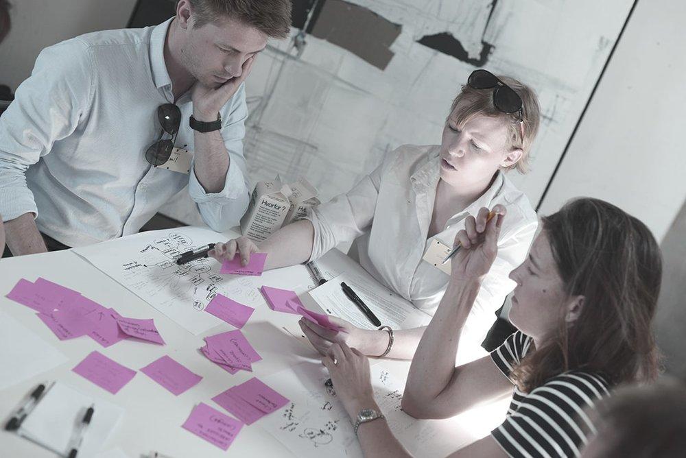 Emendo - neuro-kreativitetstræning for 65 deltagere i B&W skabelonloftet.  Læs casen her .