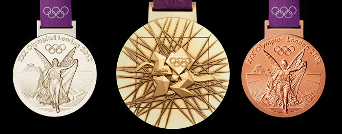 The Royal Mint produced all medals for the London 2012 Olympic Games