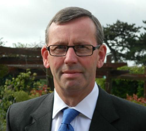 Simon Caraffi, Chief Executive of St Peter's Hospice