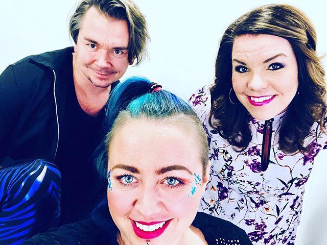Reunion with bästa @emiljensen_artistsida 💜💜💜