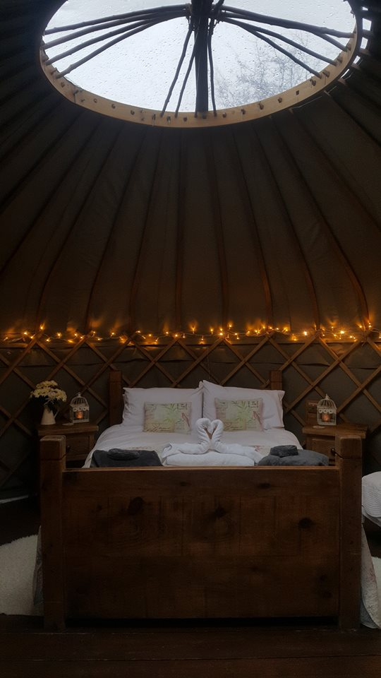 yurts in derbyshire