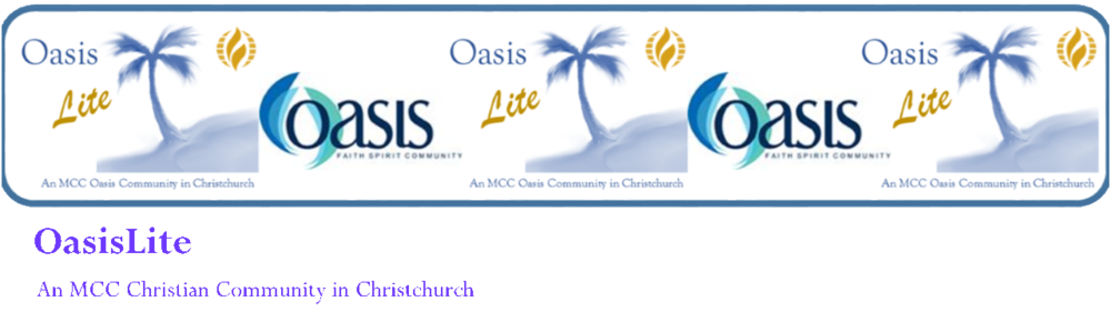 Oasis Lite - An MCC Oasis Community in Christchurch